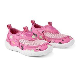 Girl Comfortable Water Aqua Pink Shoes Size 9/10